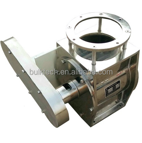 rotary airlock valve for dust collector in flour mill under cyclone