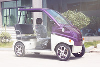 environment-friendly newest left steeling vehicle 2 seaters small electric car with safety