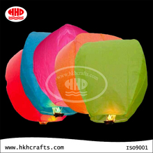 Chinese supplier colorful handmade wishing sky lantern