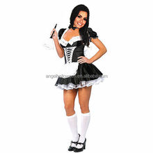 Sexy japanese maid costume fashion french maid costume for sale AGC2469