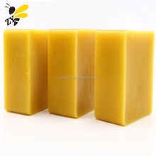 China Beeswax Factory Square Round Yellow White Food Grade Cosmetic Grade Natural Block/Pellets Pure Bulk Organic Beeswax