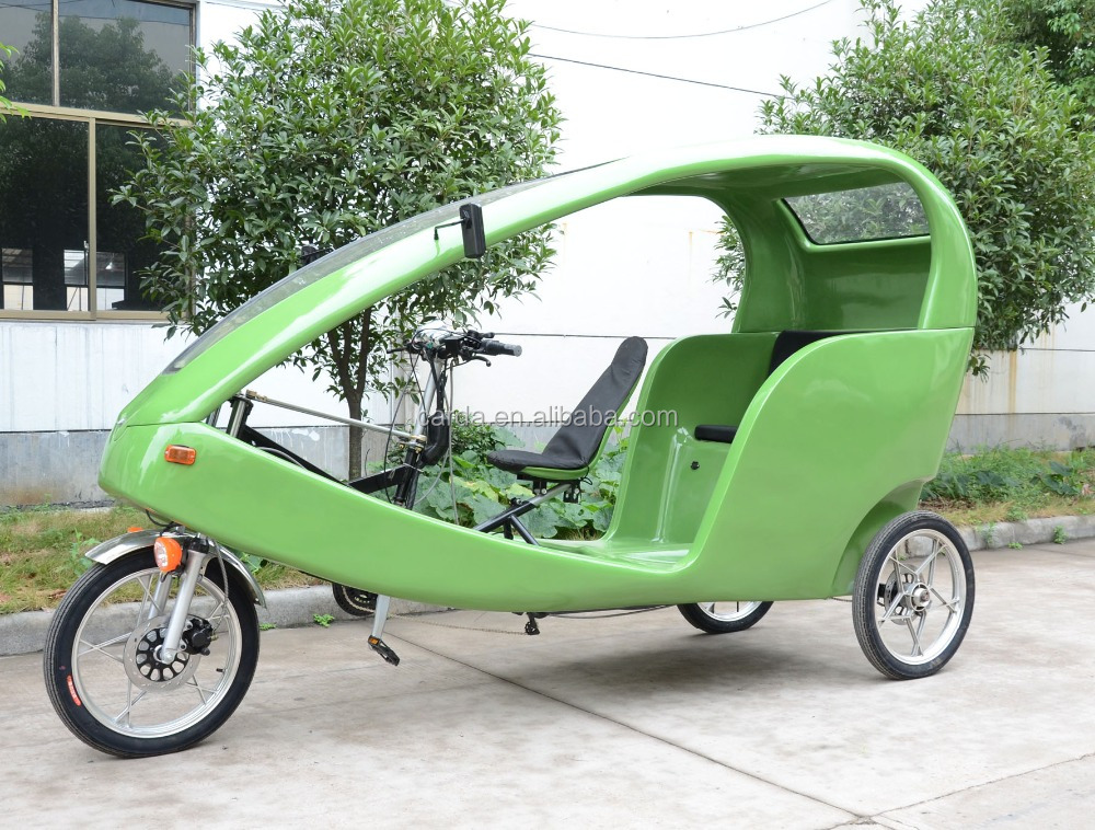 electric pedicab tricycle for passenger taxi bike pedicab for passenger with three wheels