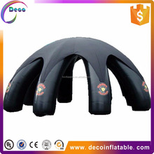 high quality customized outdoor advertising inflatable giant spider tent for sale