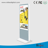 65'' 55 inch high definition indoor wifi kiosk lcd advertising display