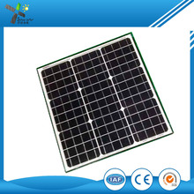 Best price per watt solar panels 20w 30w 40w 50w monocrystalline or polycrystalline cells