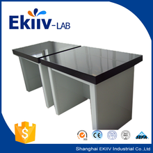 Granite 40mm thick Marble Stone Countertop Anti-Vibration Steel Lab Balance Bench in Physics Lab Furniture