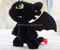 Cute stuffed plush toy toothless dragon soft toy how to train your dragon toys