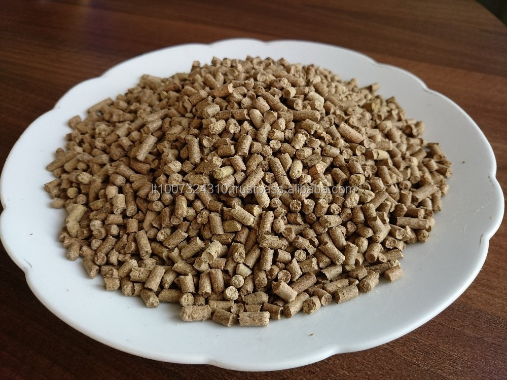 Corn silage pellets