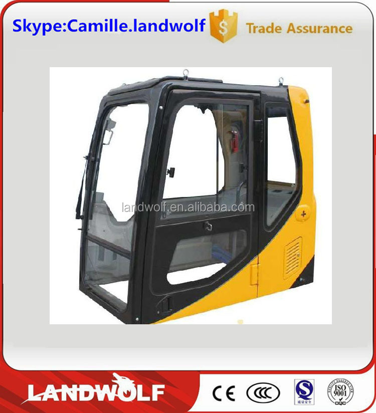 China manufacturer operator's cabin assy,SANY / XCMG excavator driver's operating cabin,excavator cab assy