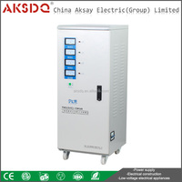 Wholesale SVC, TNS Full Copper Home 3 Phase 380V 1,5KVA-75KVA Servo Motor Electrical Voltage Stabilizer Manufacture