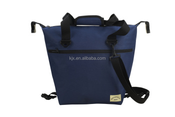 Shenzhen Factory 600D PVC Cooler Bag with Adjustable Shoulder Strap