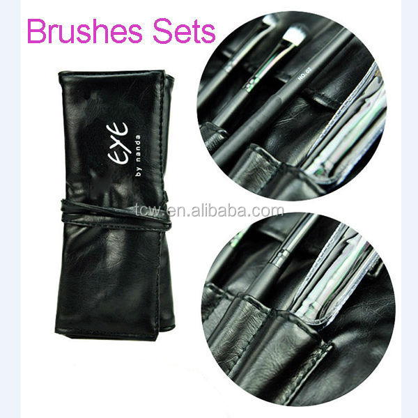 private label professional makeup brush set,high quality paint brush set,synthetic hair make up brush set