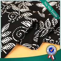 Textile fabric supplier Latest design Fancy Polyester types of woven fabric