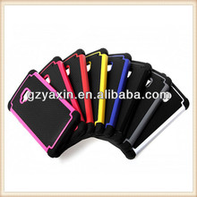 Popular football style bumper case for htc one m7,best selling