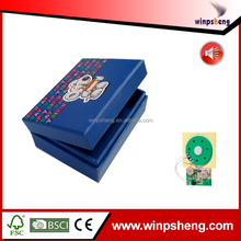 Push button sound module music box/pull string music boxes