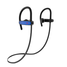 2017 Light Weight ipx7 Waterproof Android Bluetooth Headset Ear Hook Mini Stereo for Running RU10