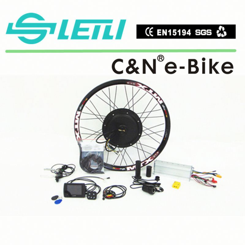 2016 72V 3000W Cheap Motor Electric Bike Kit For Sale with the TFT display