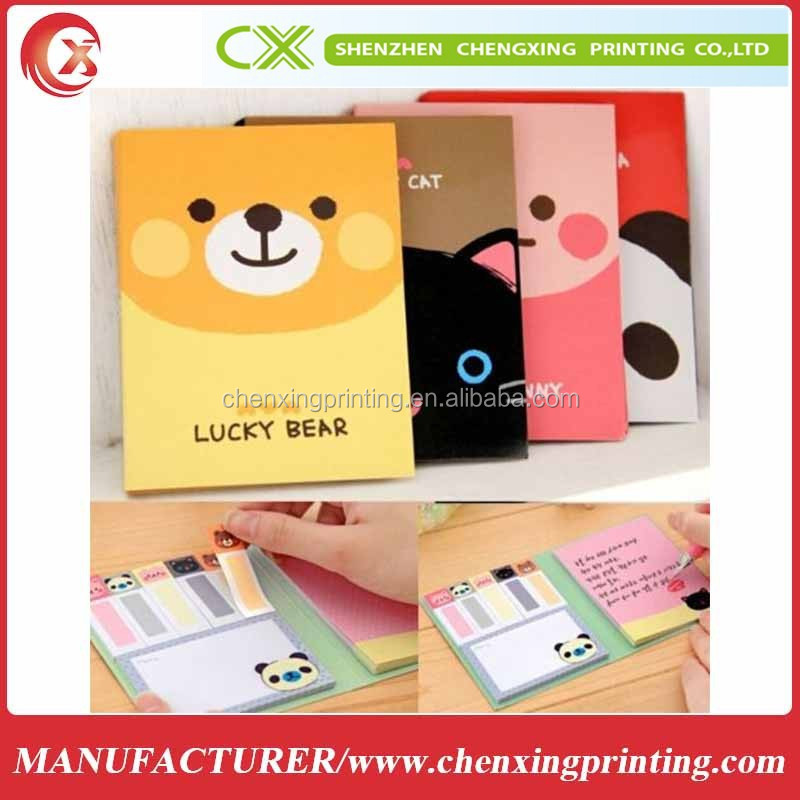 Design Cute Animals Sticker Bookmark Point It Marker Memo Flags Sticky Notes
