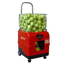 Micro-computer automatic training tennis ball machine