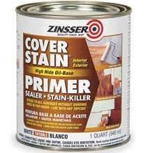 Zinsser 3554 Primer/Sealer Stain Killer,white,1 Qt.