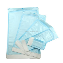 Dental self-sealing sterilization pouch for medical packaging