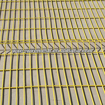 green yellow welded wire mesh panels for breed