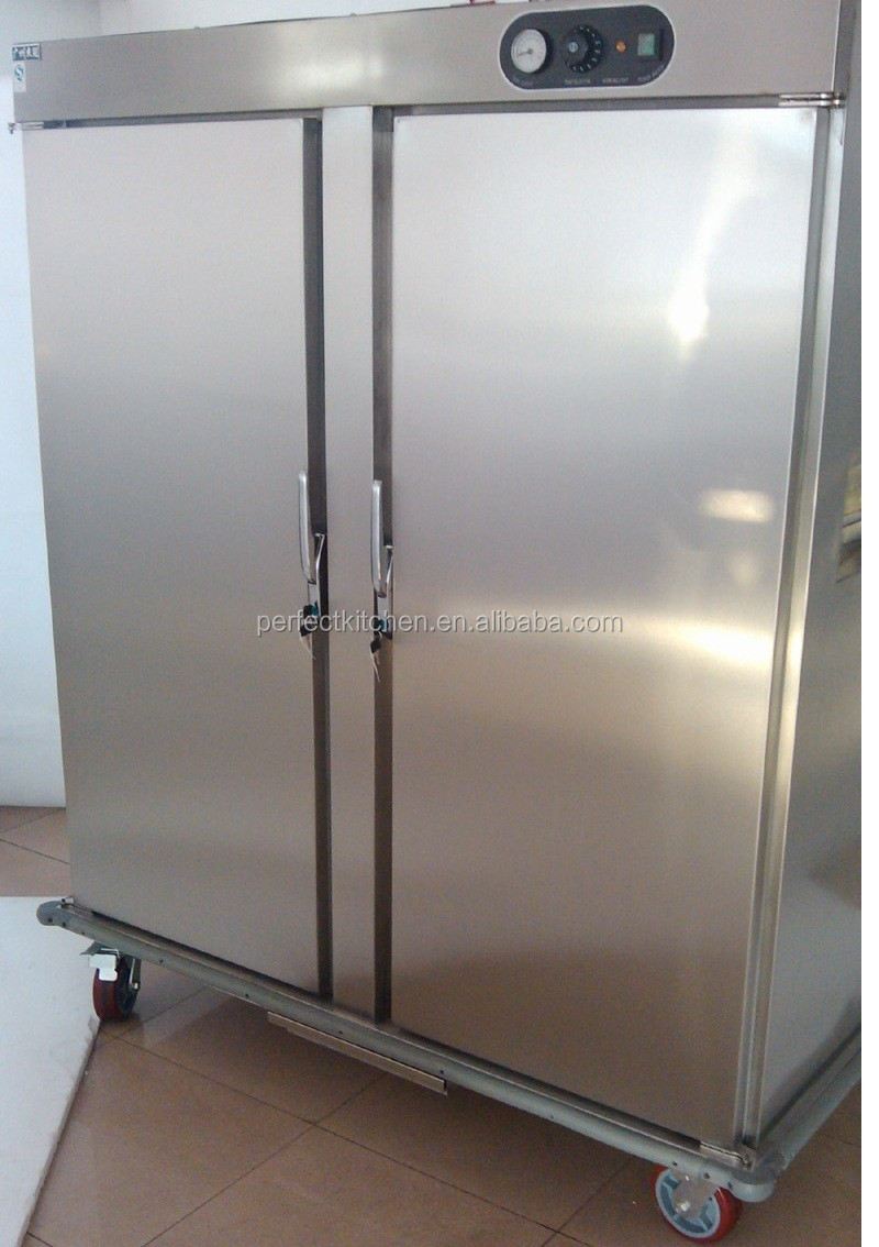 Double Doors Electric Food Warmer Trolley Hospital Food Warming Trolley Buy Hot Food Cabinet