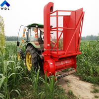 Tractor dynamic output napier grass/king grass harvester/forage harvester