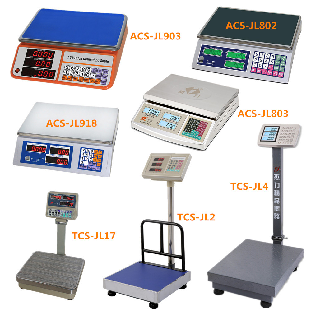 Popular Electronic Price Computing Scale, ACS 30, 30kg to 40kg