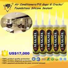 Air Conditioners/Fill Gaps & Cracks/Foundations Silicone Sealant