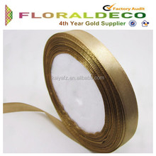 China Wholesale 100% Polyester Ribbon Double Sided Satin Ribbon For Packaging and Decor