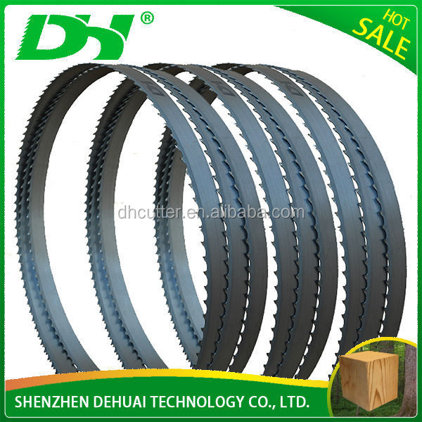 Alloy Steel Wood Cutting Band Saw Blade Sawmil Bandsaw Blade Bandsaw Chain