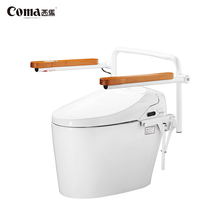 Disabled People Used Smart Ceramic Intelligent Wc Composting Toilet With Night Light