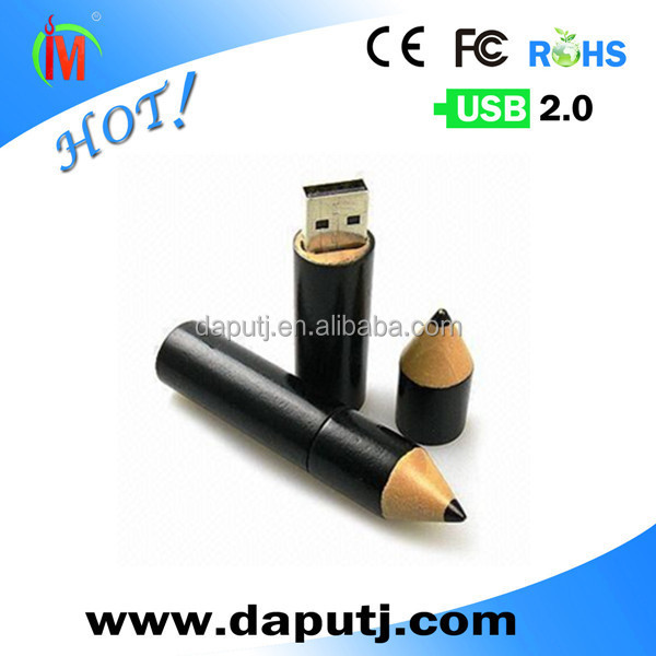 Novelty pencil shape usb 2.0 driver for gift