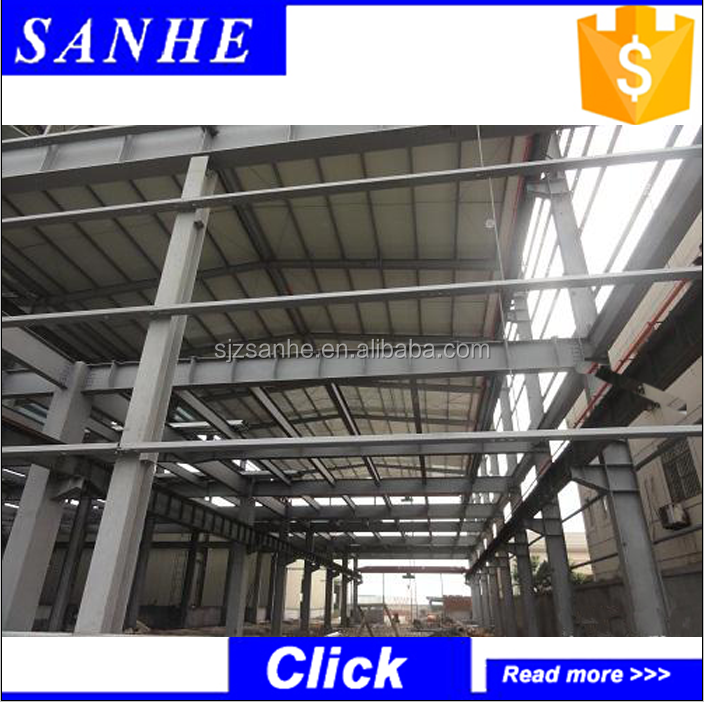 China factory supplier prefabricated steel structure warehoue