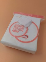 222 pcs double side-sealed design 100%pure cotton pads