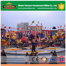 2017 best selling new amusement rides crazy dance from China factory