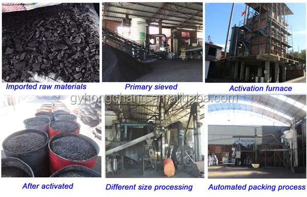 Granular Nut Shell Activated Carbon Price Per Ton