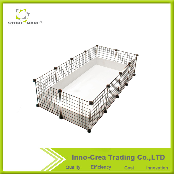Hot Sale Guinea Pig Eco-friendly Iron Metal Mesh Pet Cage
