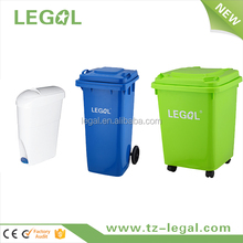 120L Waste Bin Plastic Stackable Waste Recycling Bin Waste Container
