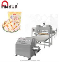 China factory good price Cotton candy production line marshmallow making machine for sale