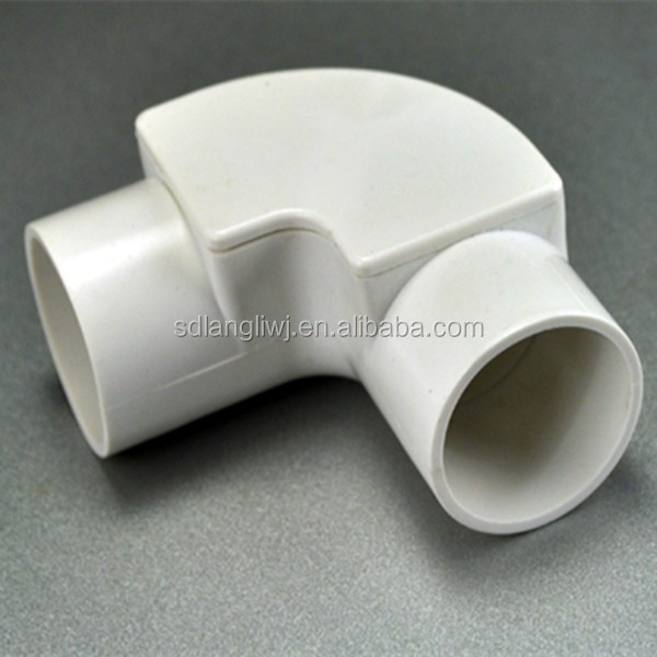 Pvc pipe accessories angle bend with cover buy