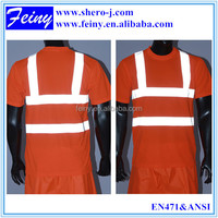 reflective safety t shirt