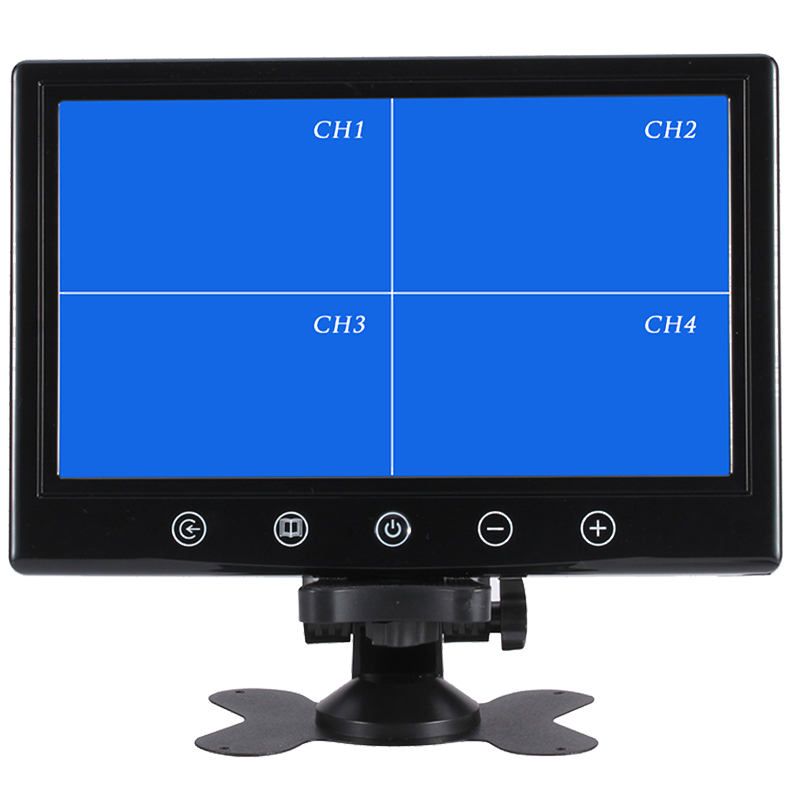 Three years guarantee cctv led monitor 9.7inch metal shell IPS metal case cctv monitor