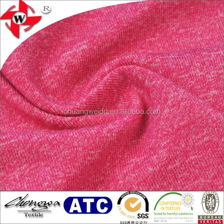 Chuangwei Textile Space Dyed Viscose Polyamide Elastane Fabric For Vest