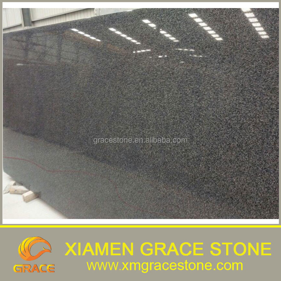 Dark grey granite padang dark granite slab G654