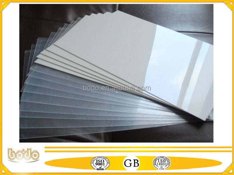 Frosted clear rigid plastic PVC sheet for printing