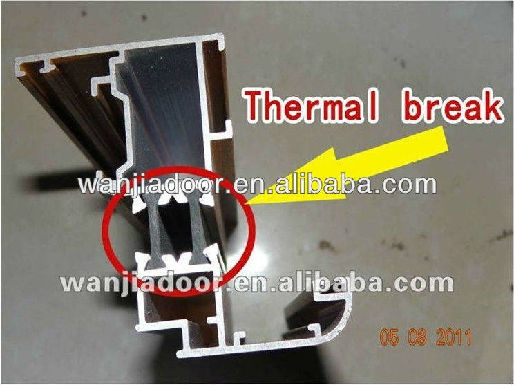 top grade thermal break aluminum window/aluminum casement windows in foshan
