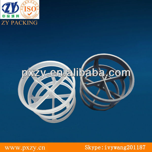 Plastic Pall Ring packing, acid&alkali resistance pall ring
