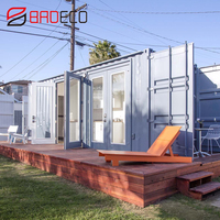 BRD Customize Eco Friendly Prefabricated House Prefab Modular Container Home